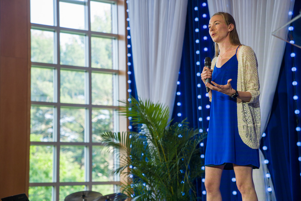 Sarah Jakositz, Full Ride Scholarship winner 2016