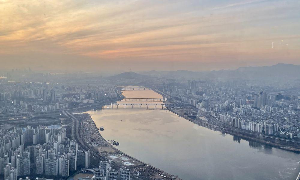 Lotte Tower, South Korea